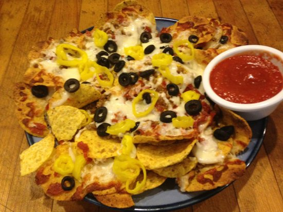 Gales Ferry, CT: Italian nachos