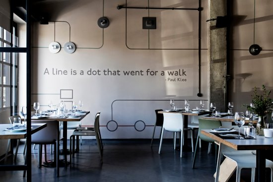 A line is a dot that went for a walk...