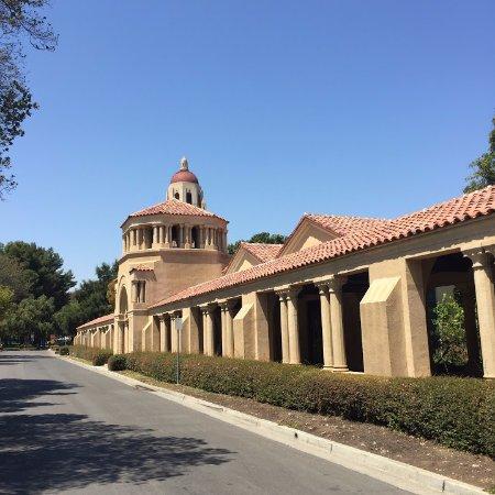 Пало-Альто, Калифорния: Stanford University - Hoower Tower no Fundo