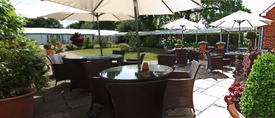 The Mill House Hotel and Restaurant: Bar Terrace