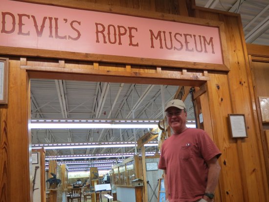 McLean, Τέξας: Entrance to Devel's Rope Museum