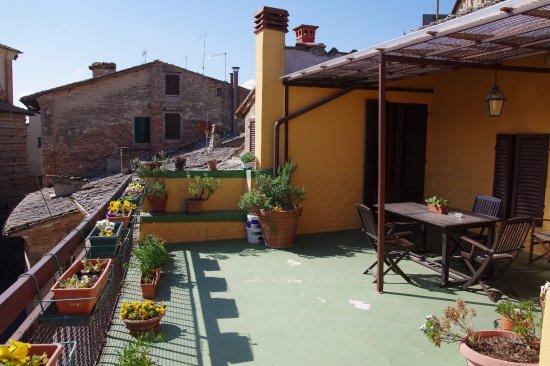 La Terrazza di Montepulciano : Roof terrace