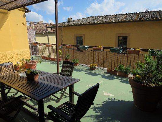Roof terrace - Foto di La Terrazza di Montepulciano, Montepulciano ...
