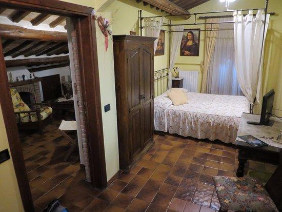 La Terrazza di Montepulciano: Bedroom