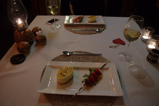 Casart Game Lodge: The BEST cheesecake that I've ever had