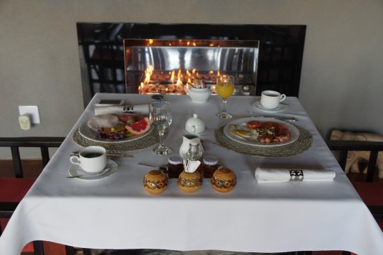 Casart Game Lodge: Breakfast with your own personalized menu