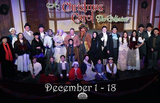 "ДеЛанд, Флорида: ""A Christmas Carol"" December 2016"