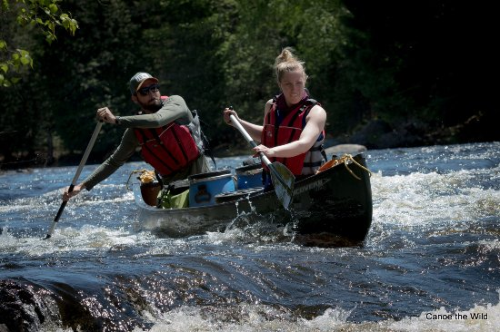 Weston, ME: Maine day trips and tours on the St. Croix River, fully outfitted and guided, shore lunch provid
