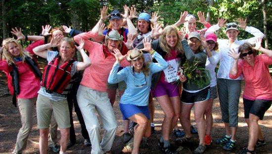 Weston, ME: Maine custom group tours on the Baskahegan and St Croix Rivers