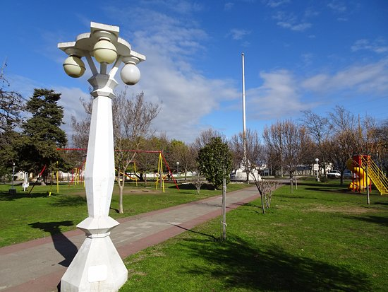 Saldungaray, Argentina: Plaza Independencia.