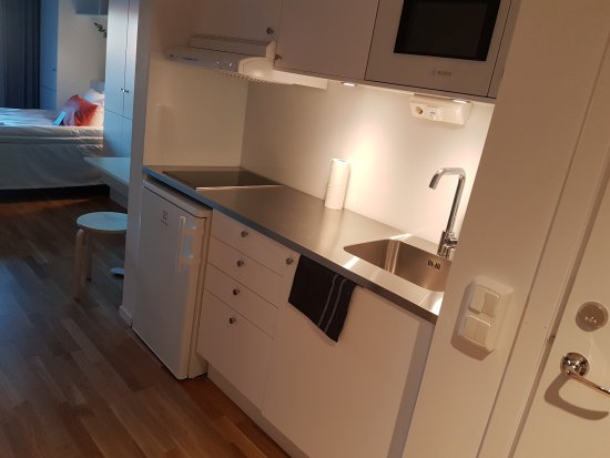 Kista, Suecia: kitchenette