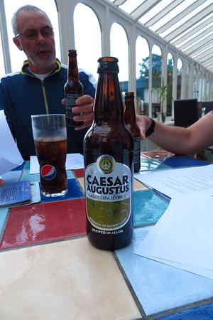 Carradale, UK: Caesar Augustus a very tasty beer