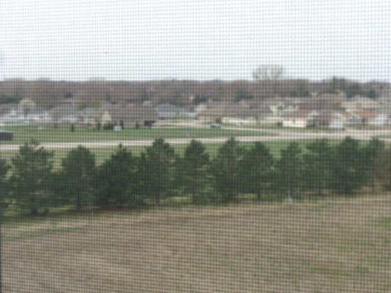 Hastings, NE: View from hotel
