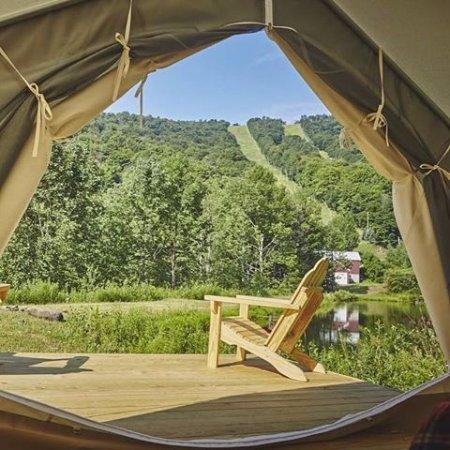 Roxbury, Estado de Nueva York: Plattekill offers Glamping and Camping onsite