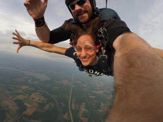 Weedsport, Estado de Nueva York: skydiving!