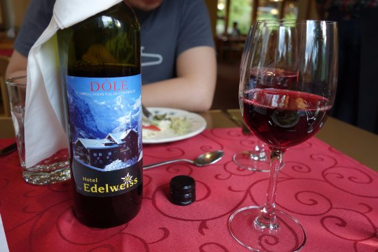 Hotel Edelweiss: The hotel's house wine