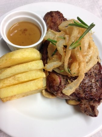 Milltown, Ireland: Steak