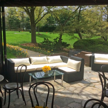 Woodcliff Lake, Nueva Jersey: Cocktail reception on the Upper Terrace
