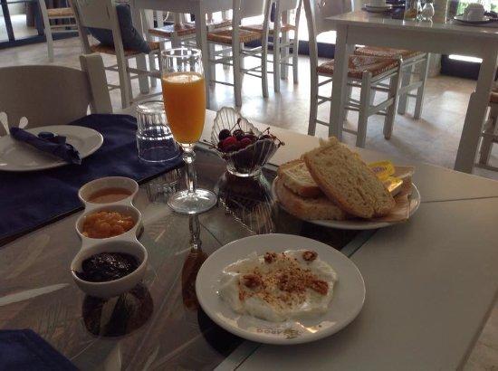 Petries, Grecia: Ontbijt