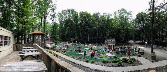 Louisa, VA: Mini Golf Course