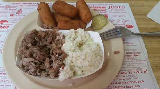 Reidsville, Carolina del Norte: Wednesday's lunch special