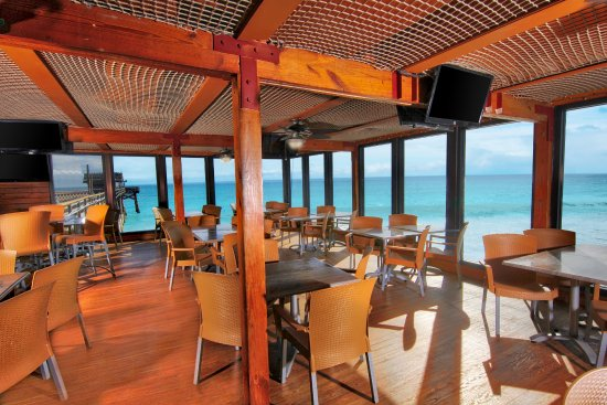 Our Casual Oceanside Bar And Grill Serves Up Fresh Seafood