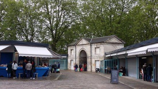 Les halles de Bourges en mai 2017
