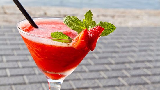 Northfleet, UK: Strawberry Daiquiri