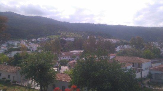 Hotel Las Truchas: Vistas desde la cafetería