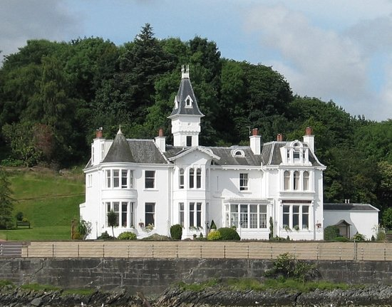 Hunters Quay Hotel: Front  view