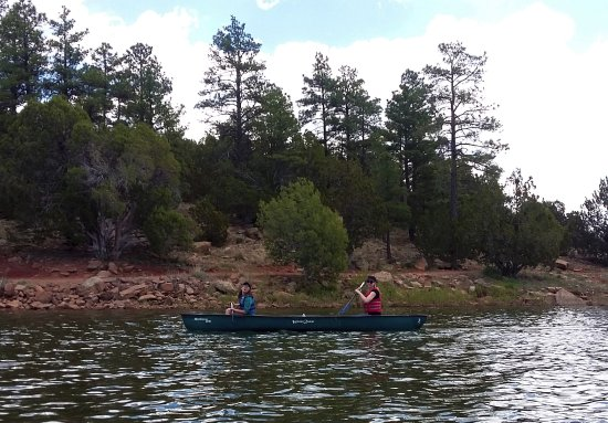 Show Low, AZ: Canoeing is awesome, and the people who run the boat rentals are very nice.