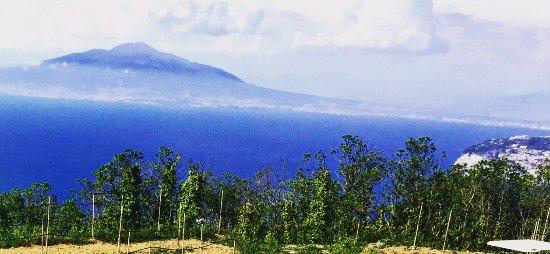 Hotel Oasi Olimpia Relais: View from the terrace - Vesuvius