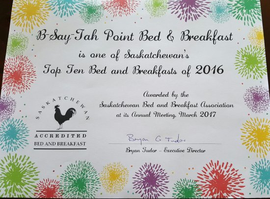 Fort Qu'Appelle, Canada: B-Say-Tah Point Bed & Breakfast