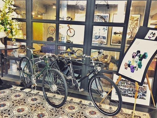 Nandha Hotel: Vintage bikes