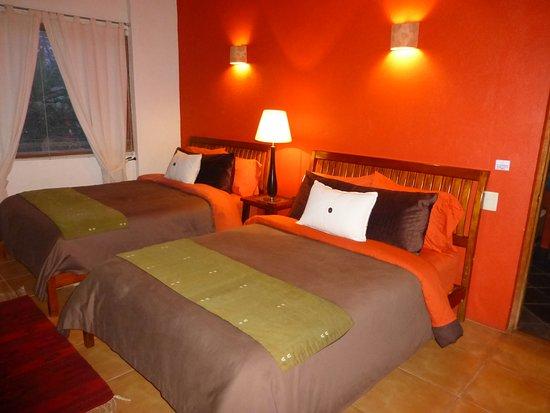 La Casa del Rio: room 2 full sizel beds