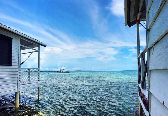Entrance - Picture of Tobacco Caye Paradise - Tripadvisor