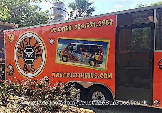 The Trust Bus Food Truck Was Inspired By Chefs Painted