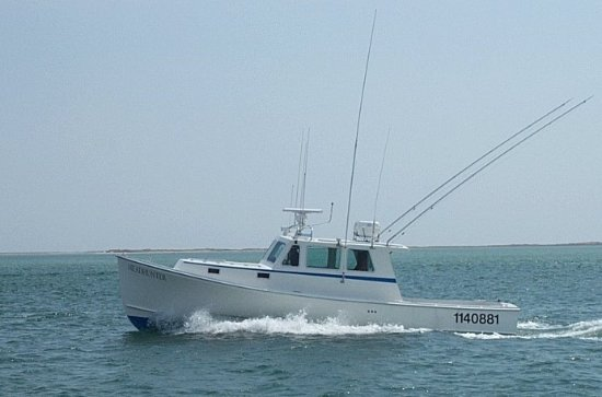 Cape Cod Fishing Charters on The Headhunter
