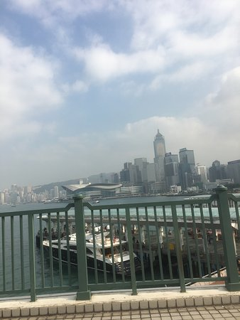 Hong Kong Maritime Museum: Views from the roof of the cafe