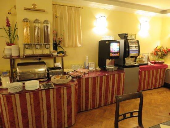 Hotel Unicorno : Breakfast room