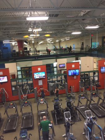 Staying active at the Niles-Buchanan YMCA!