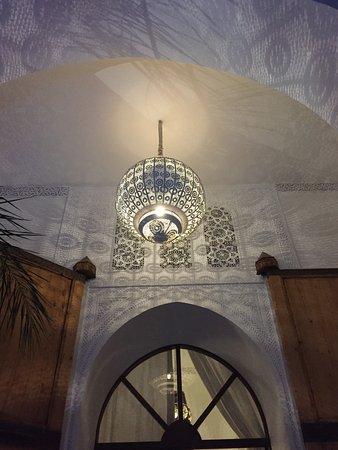 Riad Charai: Courtyard Area