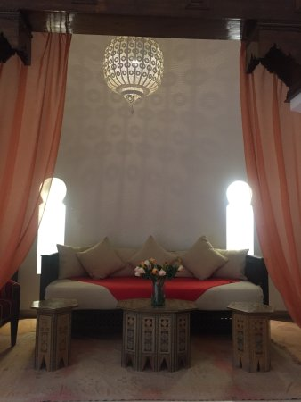 Riad Charai: Cozy Nook off the Courtyard