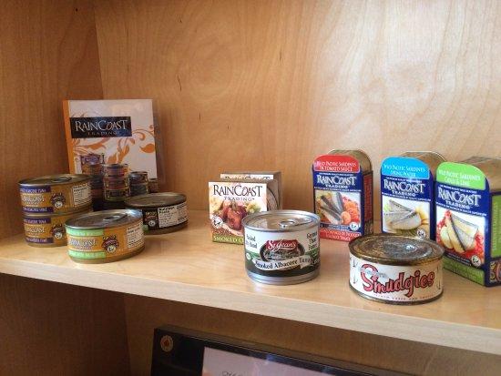 Nanaimo, Canada: RainCoast Products - tuna available in Walmart in U.S.A.