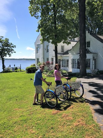 Angel Inn Bed & Breakfast: Enjoyed a bike ride around the area at the end of our stay. Delightful!