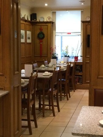 Morgan Hotel: breakfast area