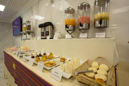 Inkari Apart Hotel: Área del comedor - Desayuno Buffet