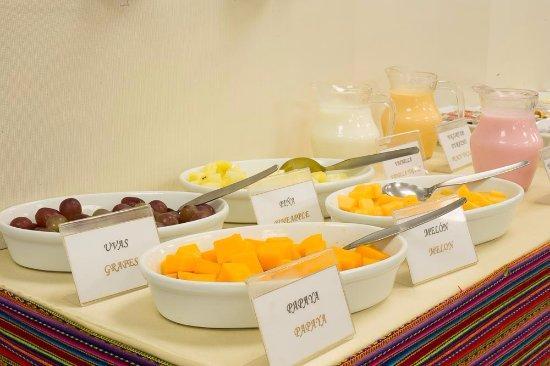 Rea del comedor desayuno buffet picture of inkari for Proposito del comedor buffet