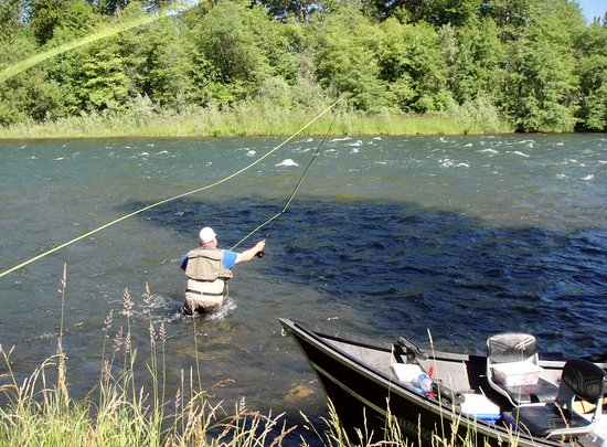 White City, OR: Fly fishing  for steelhead on the upper Rogue!