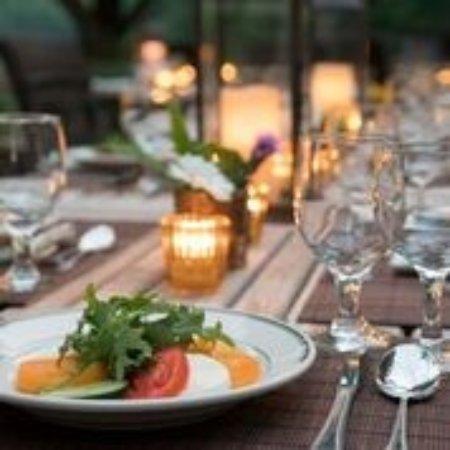 Livingston Manor, NY: Enjoy dinner on the deck this summer